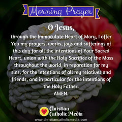 Morning Prayer Catholic Friday 11-1-2019