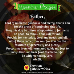 Morning Prayer Catholic Monday 10-14-2019