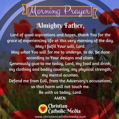 Morning Prayer Catholic Tuesday 10-15-2019