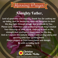 Morning Prayer Catholic Monday 9-9-2019
