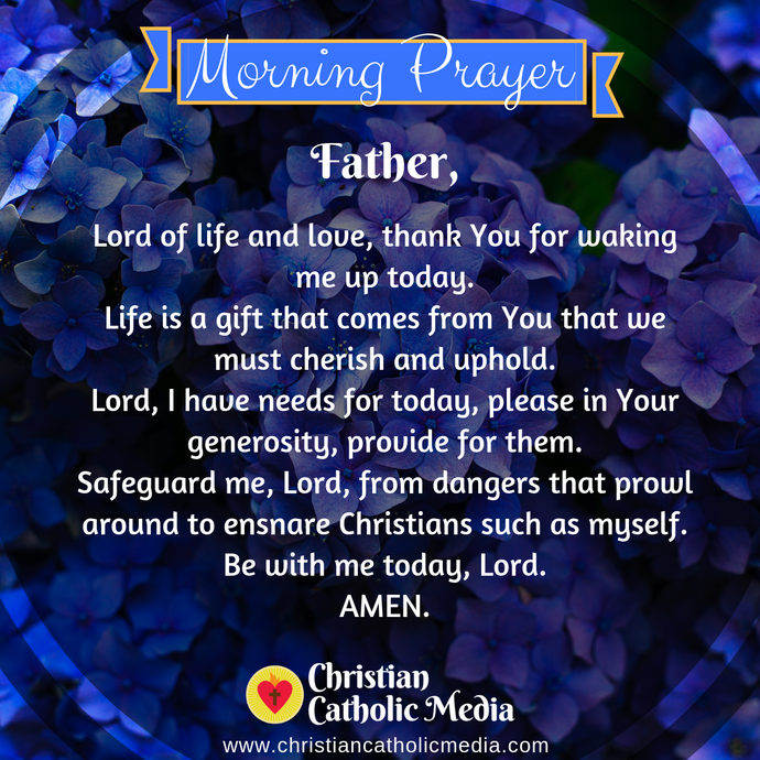 Catholic Morning Prayer Friday 9-25-2020