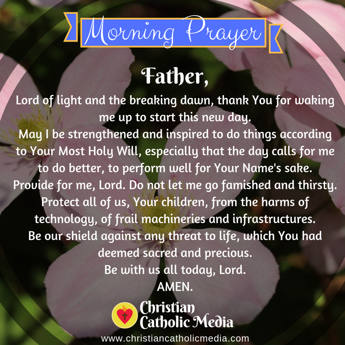 Catholic Morning Prayer Tuesday 1-26-2021