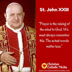 St. John XXIII - Friday October 11, 2019