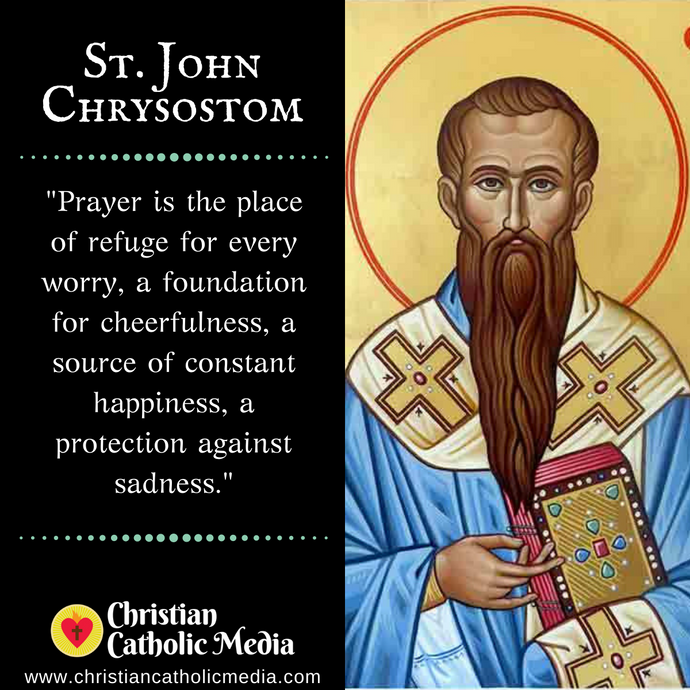 St. John Chrysostom - Sunday September 27, 2020
