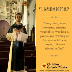 St. Martin de Porres - Sunday November 3, 2019