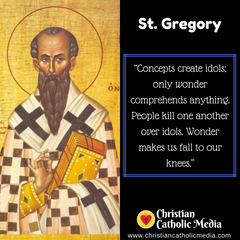 St. Gregory - Friday January 10, 2020