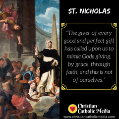 St. Nicholas - Friday December 6, 2019