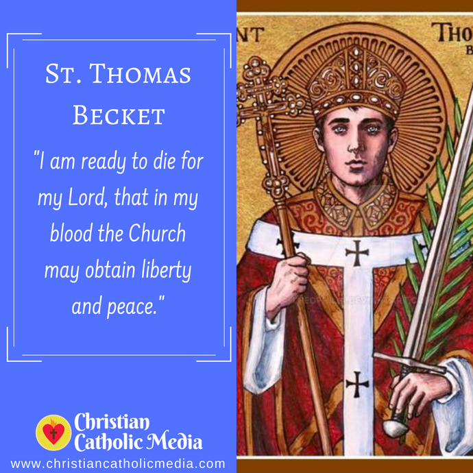 St. Thomas Becket - Tuesday December 29, 2020