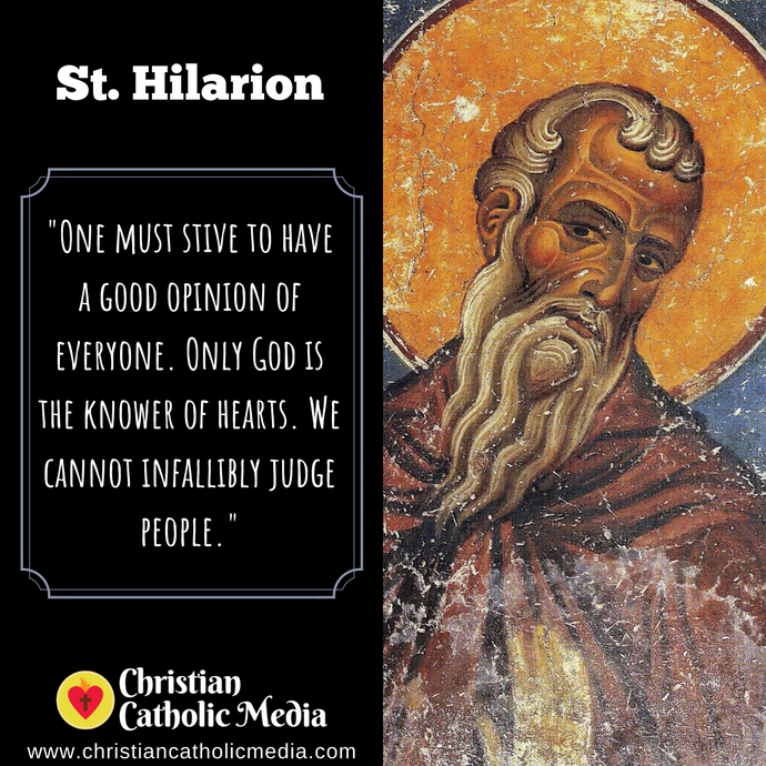 St. Hilarion - Wednesday October 21, 2020