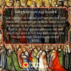 Solemnity of All Saints - Friday November 1, 2019