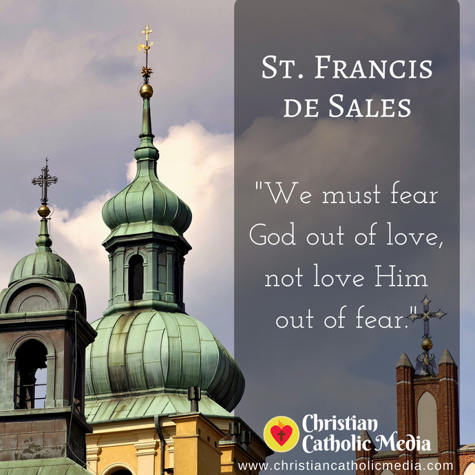 St. Francis de Sales - Monday July 13, 2020