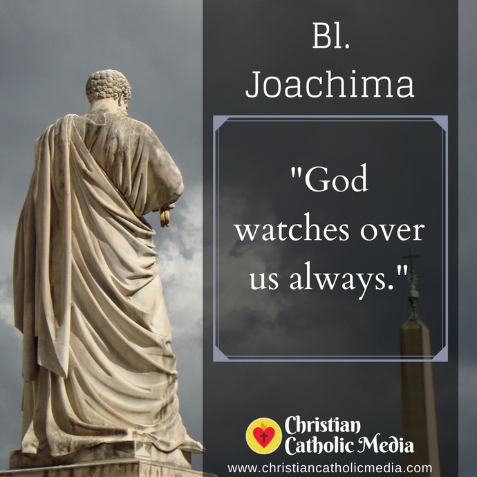 St. Joachima - Wednesday June 10, 2020