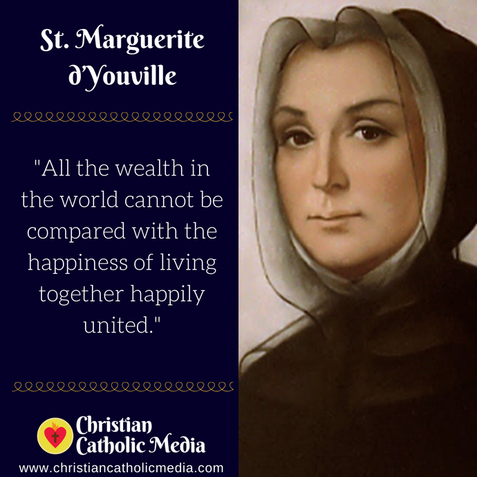St. Marguerite d'Youville - Monday June 15, 2020