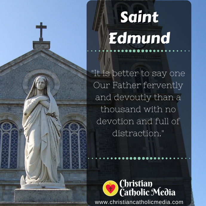 St. Edmund - Monday June 8, 2020