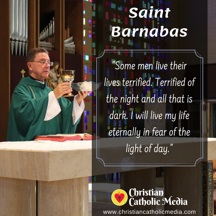 St. Barnabas - Thursday June 11, 2020