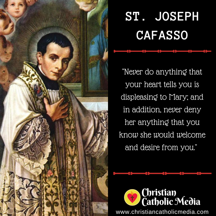 St. Joseph Cafasso - Wednesday June 17, 2020