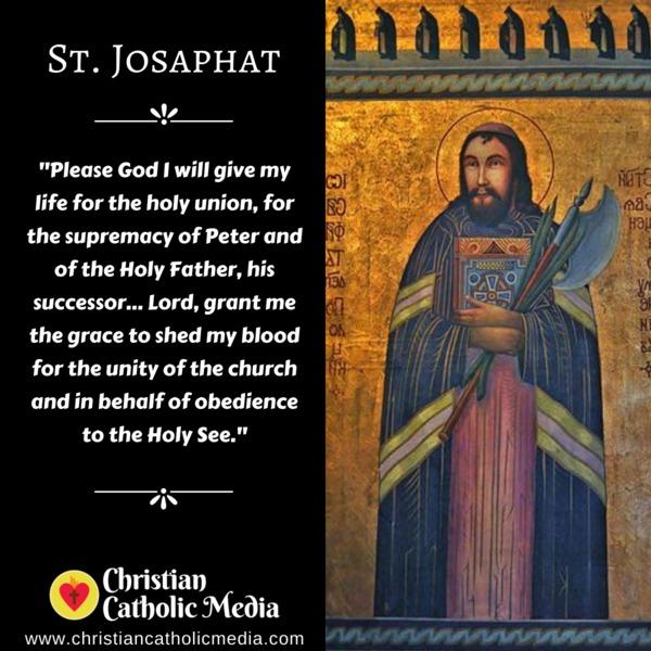 St. Josaphat - Tuesday November 12, 2019