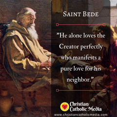 St. Bede - Monday May 25, 2020