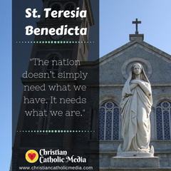St. Teresia Benedicta - Tuesday May 11, 2021