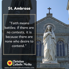 St. Ambrose - Wednesday January 22, 2020