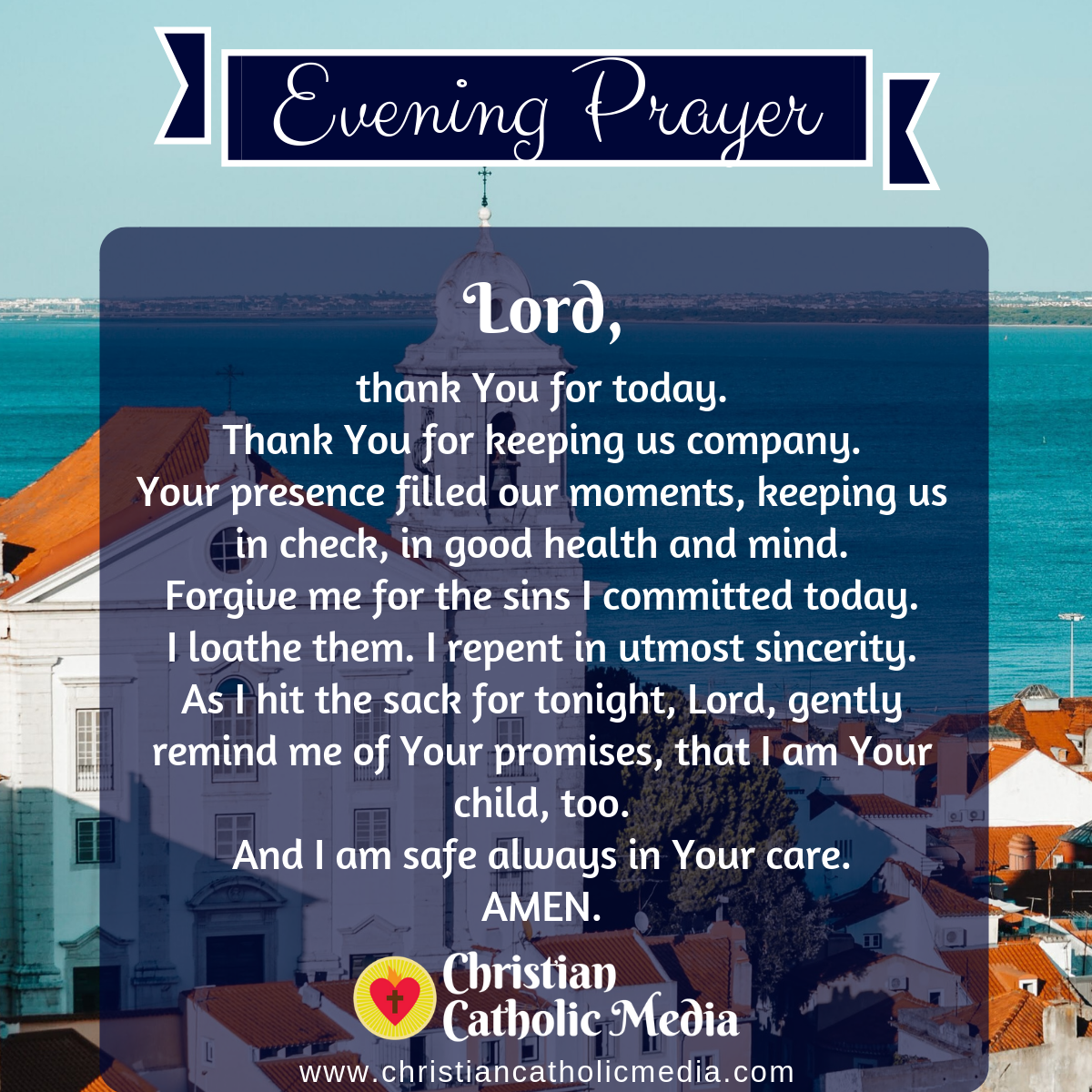 Evening Prayer Catholic Saturday 8-8-2020