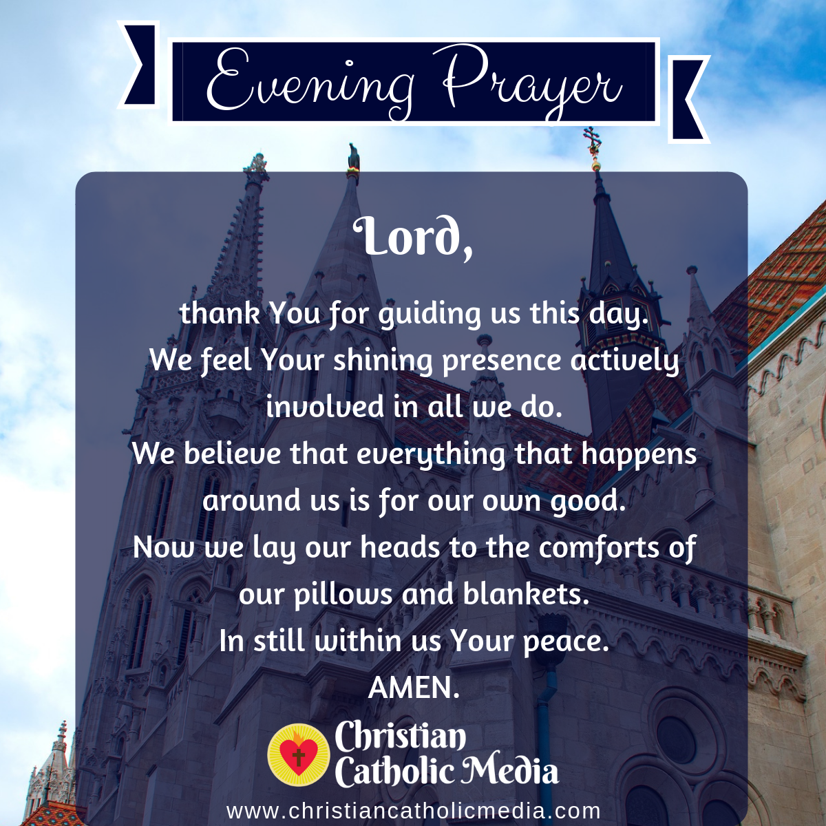Evening Prayer Catholic Thursday 2-13-2020