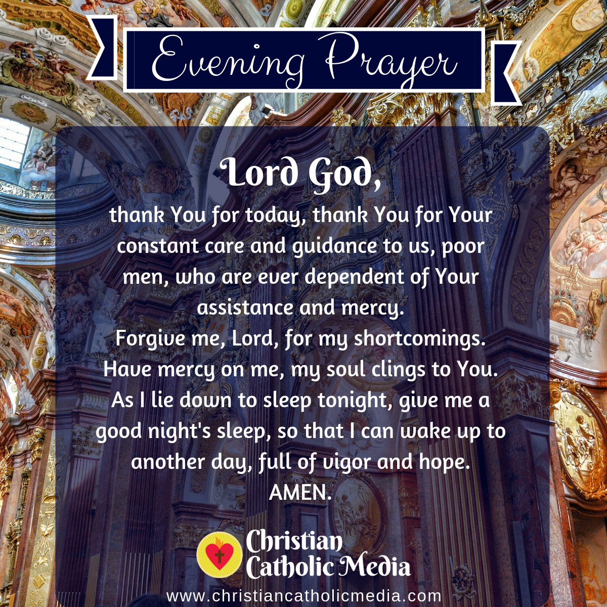 Evening Prayer Catholic Monday 1-6-2020