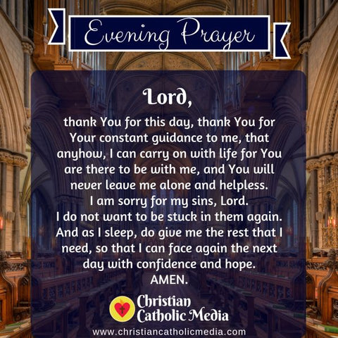 Evening Prayer Catholic Friday 7-19-2019