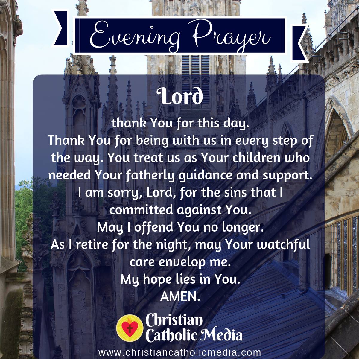 Evening Prayer Catholic Tuesday 6-16-2020