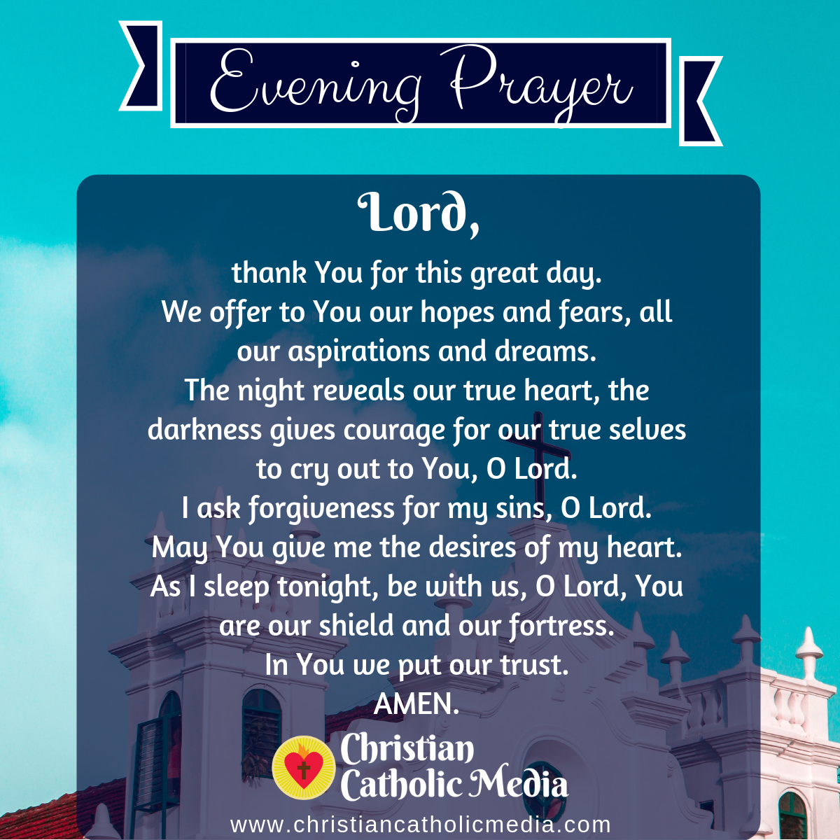 Evening Prayer Catholic Sunday 3-29-2020