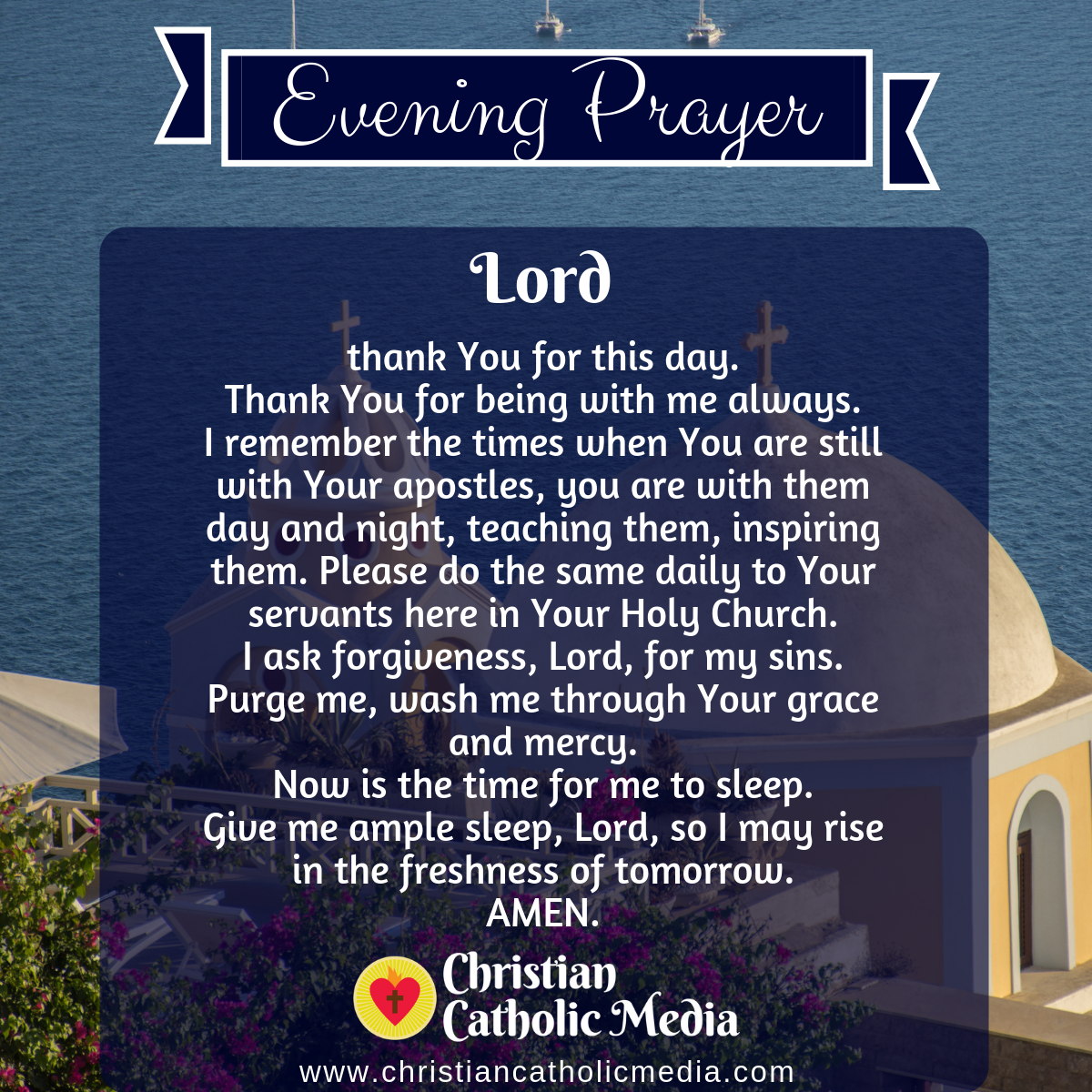 Evening Prayer Catholic Thursday 11-19-2020