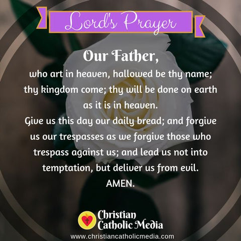 Morning Prayer Catholic Sunday 8-4-2019