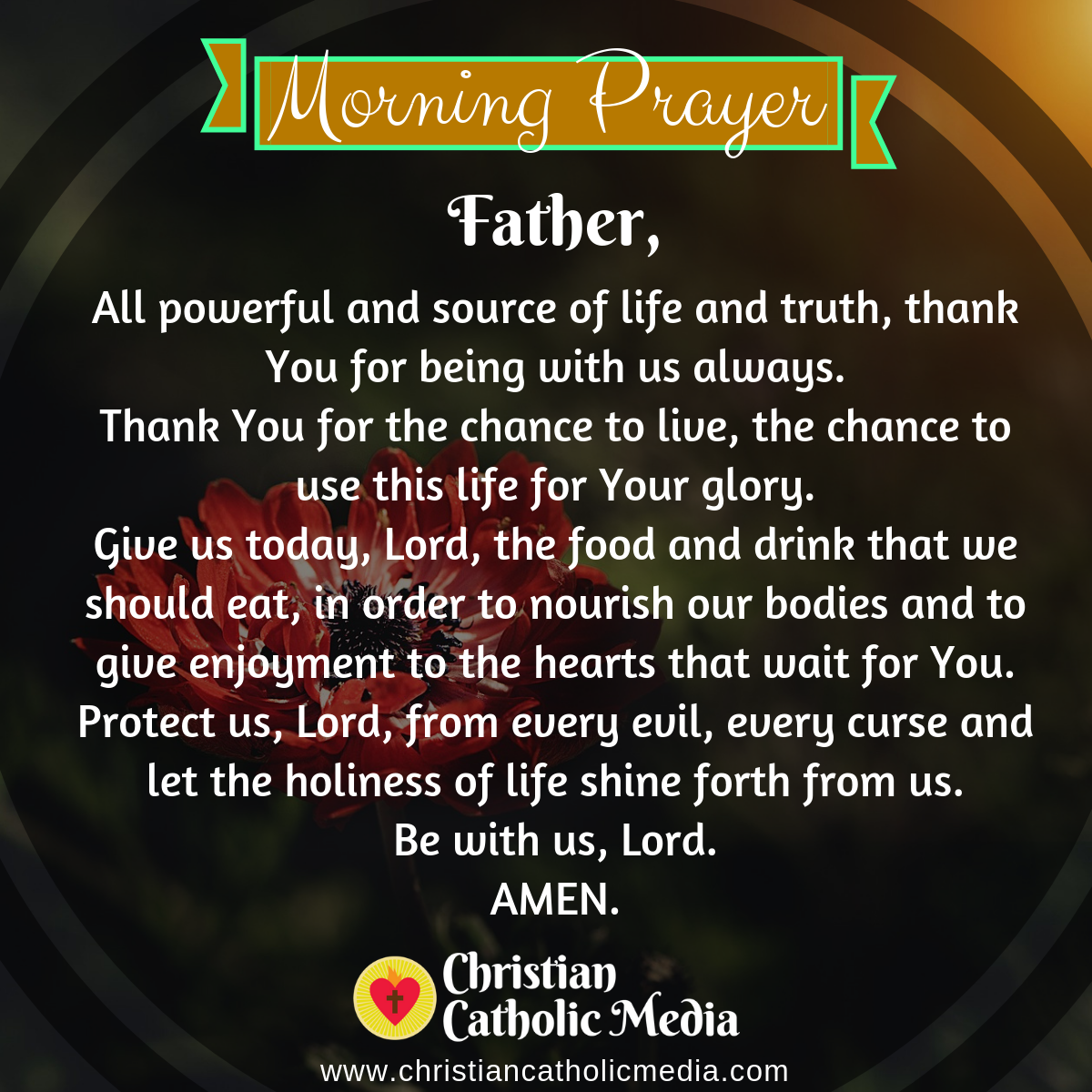 Catholic Morning Prayer Friday 6-19-2020