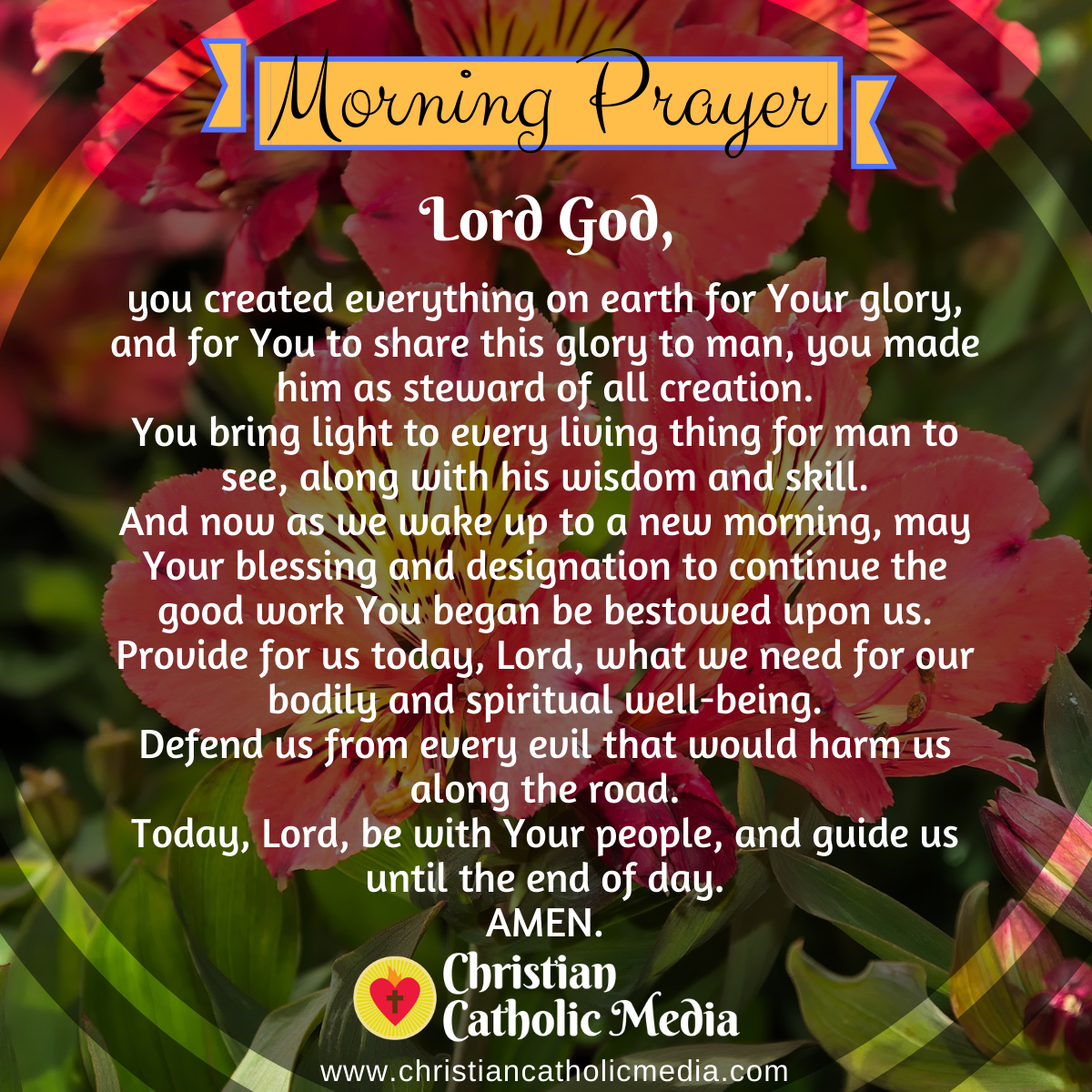 Catholic Morning Prayer Monday 6-29-2020