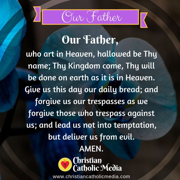 Morning Prayer Catholic Saturday 9-28-2019