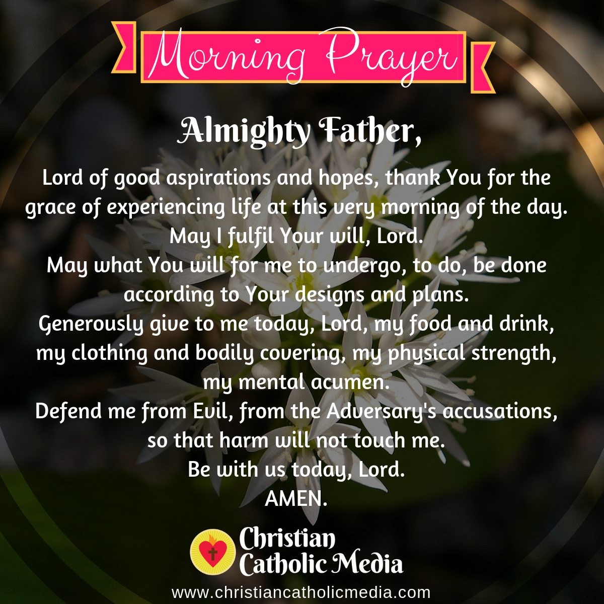 Catholic Morning Prayer Thursday 9-24-2020