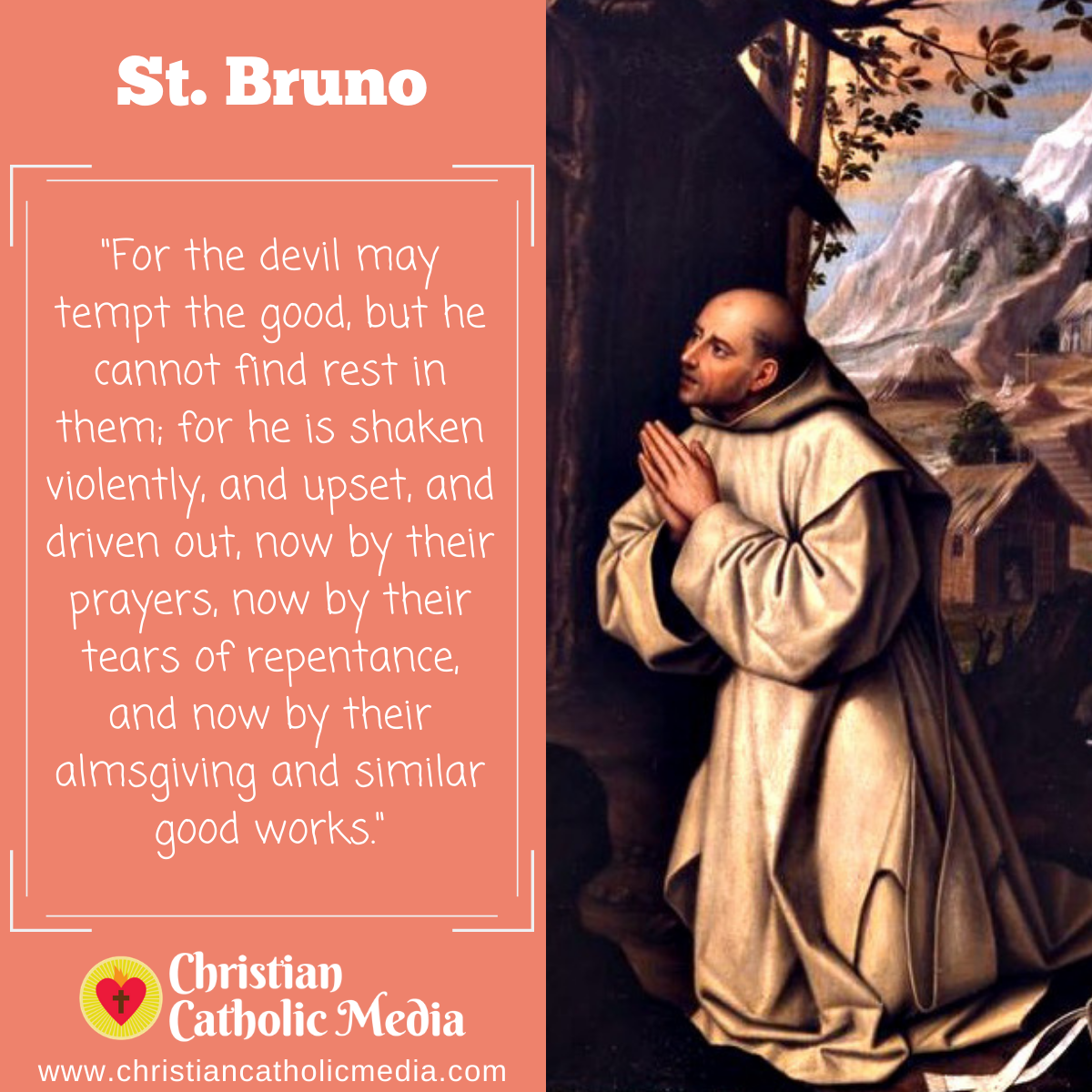 St. Bruno - Tuesday October 6, 2020