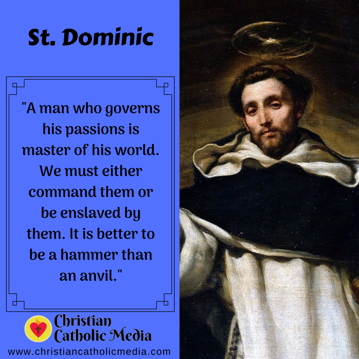 St. Dominic - Saturday August 8, 2020