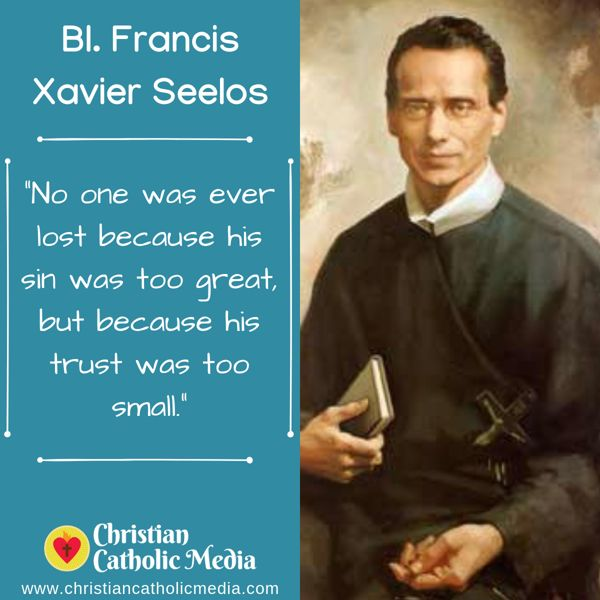 St. Francis Xavier Seelos - Saturday October 12, 2019