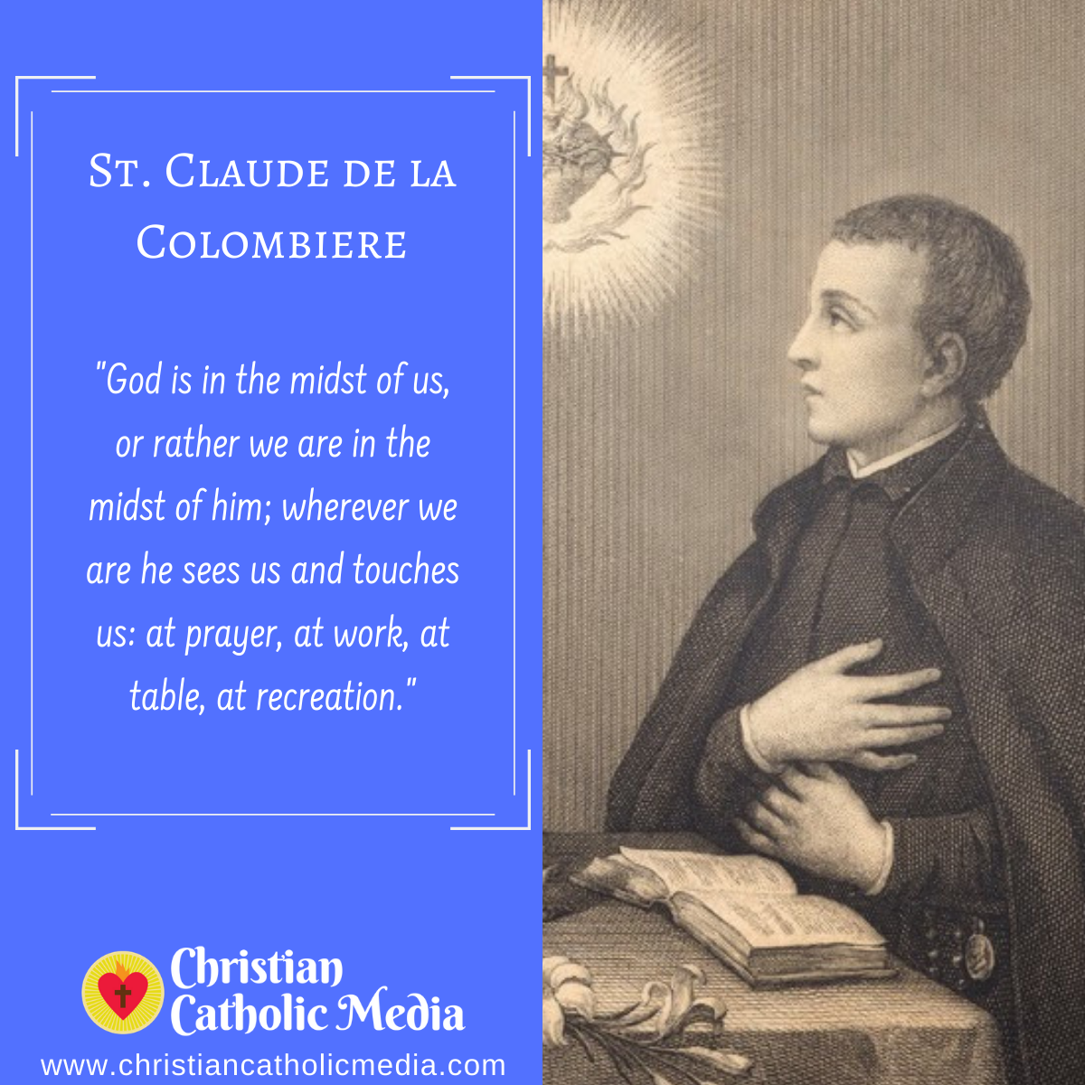 St. Claude de la Colombiere - Saturday February 15, 2020