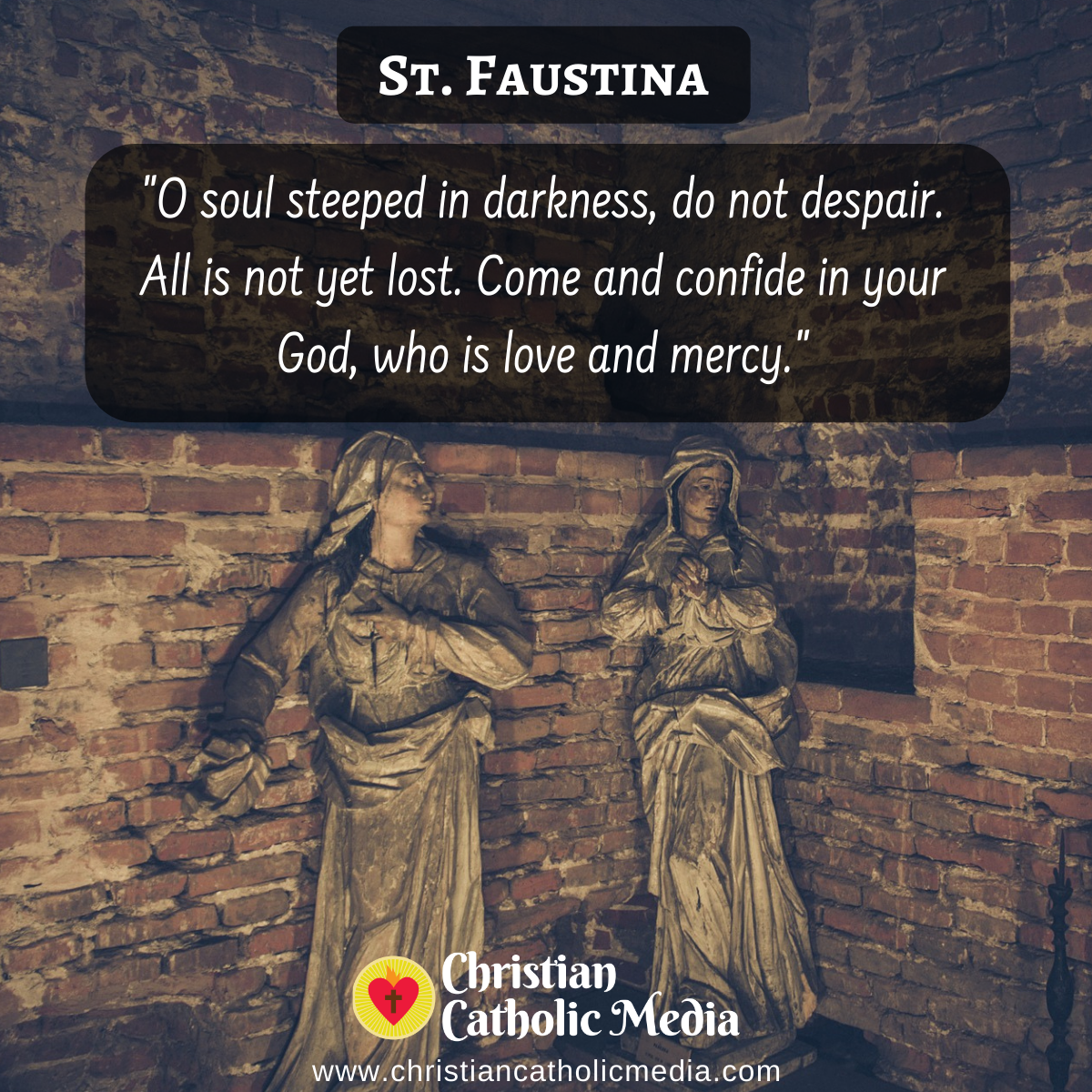 St. Faustina - Tuesday July 20, 2021