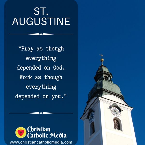St. Augustine - Monday September 16, 2019