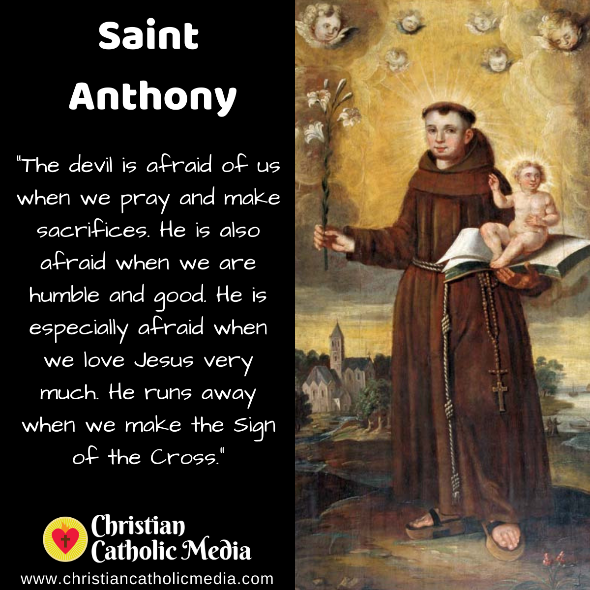 St. Anthony - Saturday June 13, 2020