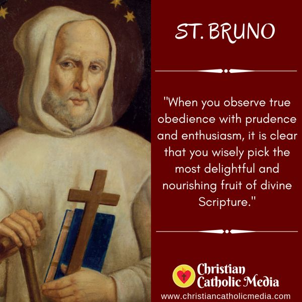 St. Bruno - Sunday October 6, 2019