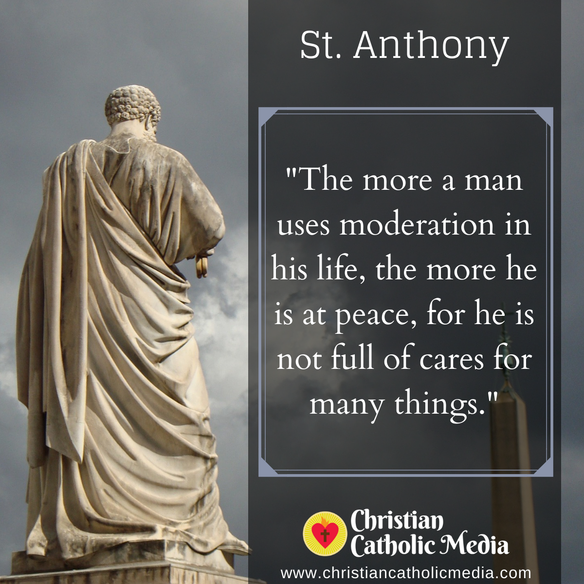 St. Anthony - Saturday August 29, 2020