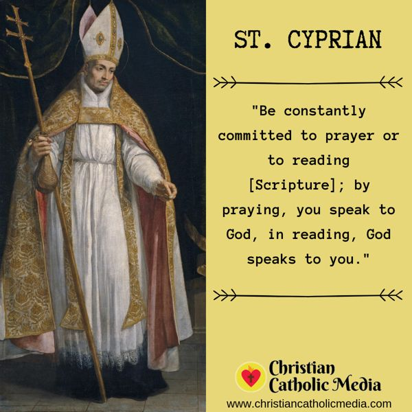 St. Cyprian - Wednesday September 11, 2019
