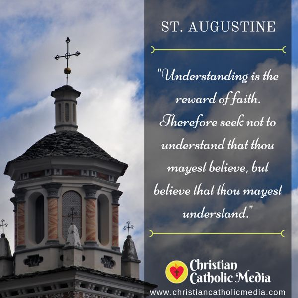 St. Augustine - Sunday September 8, 2019