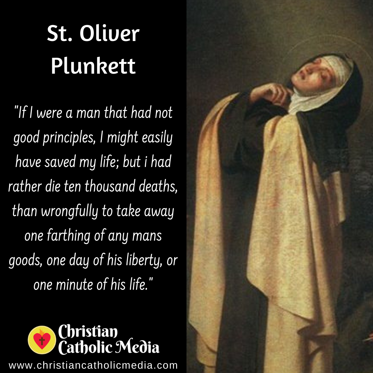St. Oliver Plunkett - Thursday July 2, 2020