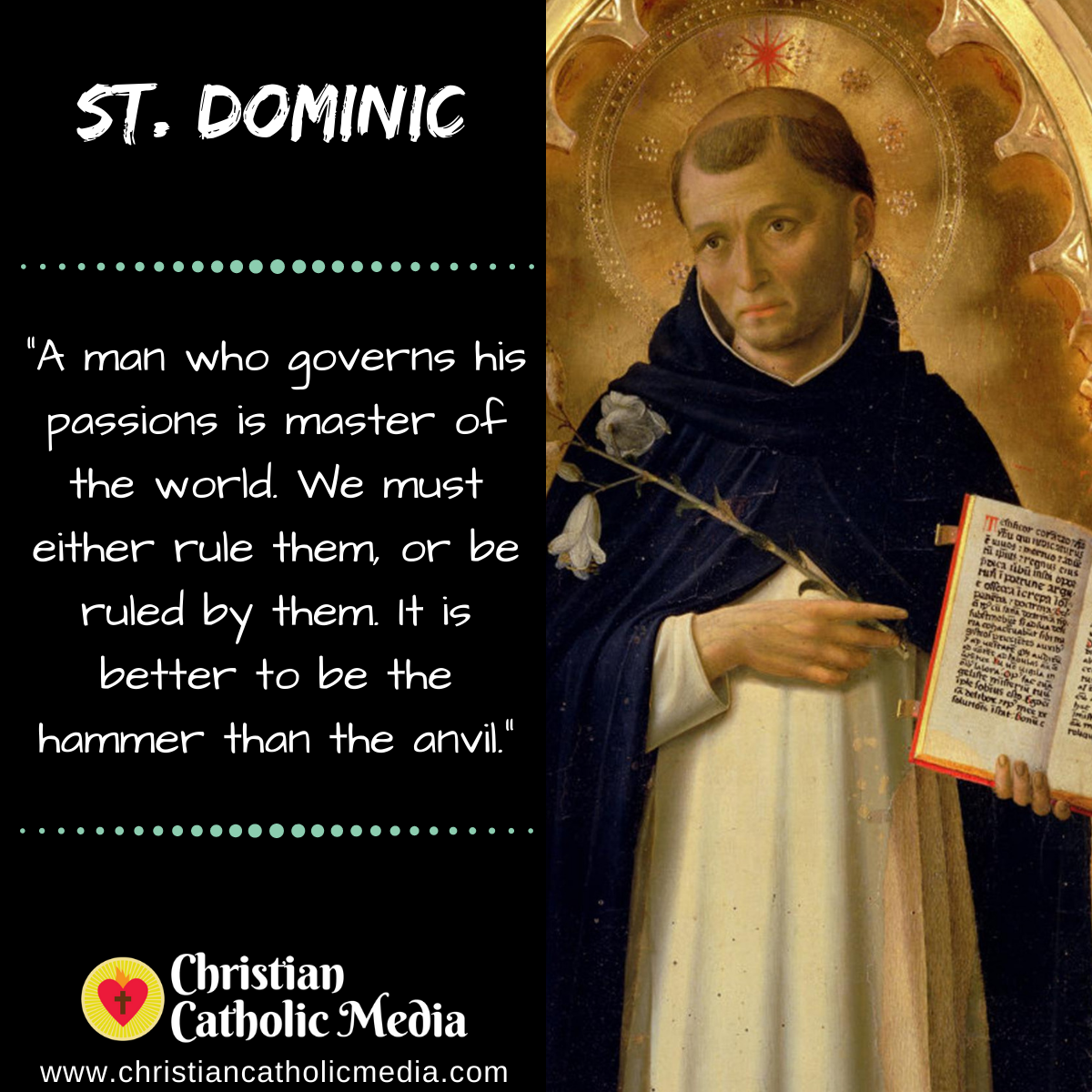 St. Dominic - Friday December 20, 2019