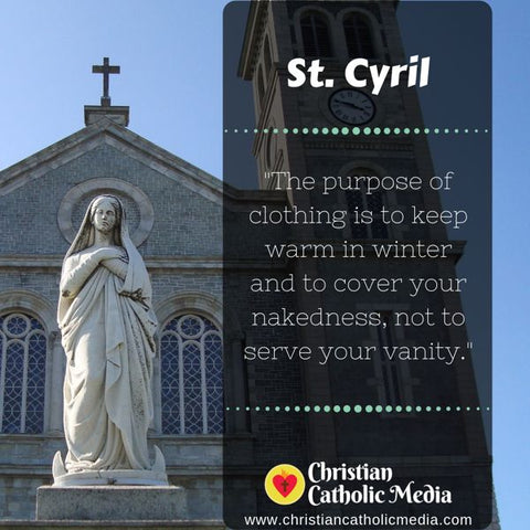 St. Cyril - Monday October 7, 2019